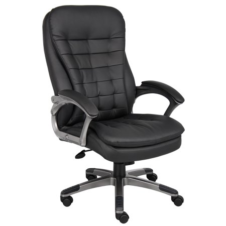 Executive Office Package - Boss Office & Home Black High-Back Executive Chair