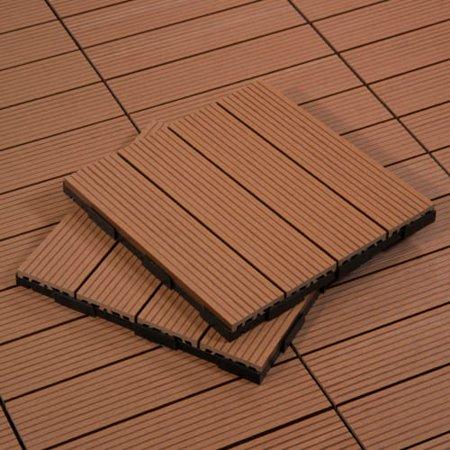 Cali Bamboo 7512003600 Bamdeck Tile 1 Square Foot Composite Decking Tiles