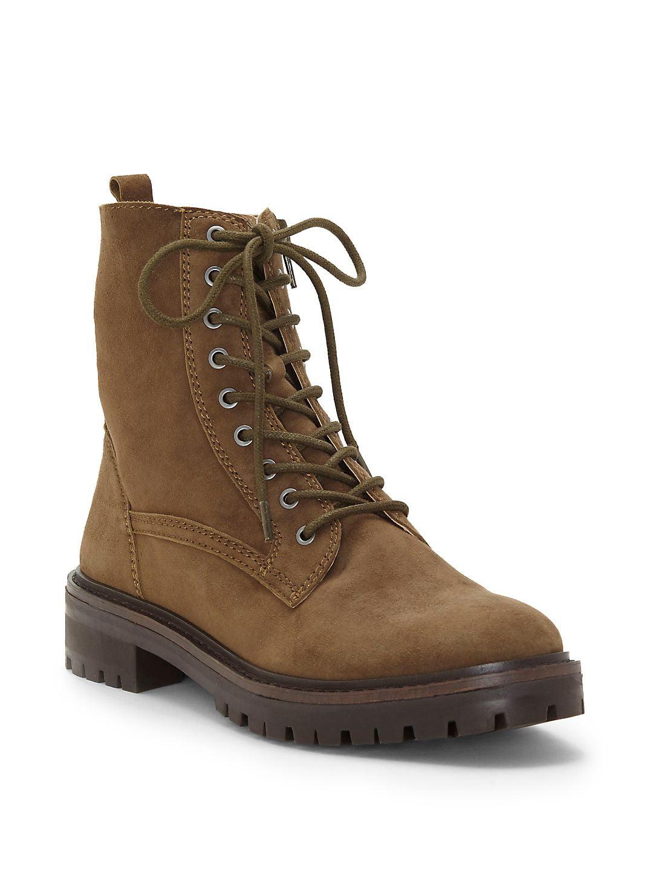 Idara Suede Leather Booties