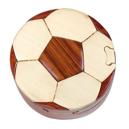 Puzzle Balls (Soccer Ball - Secret Wooden Puzzle)