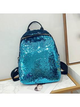 3a2853e053 Product Image Mosunx Fashion Girl Sequins School Bag Backpack Satchel  Student Travel Shoulder Bag