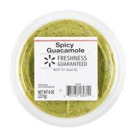 Freshness Guaranteed Guacamole, Spicy, 8 oz