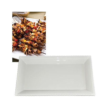 PremiumConnection Home Kitchen Indoor Tableware Ceramic Food Serving Platter