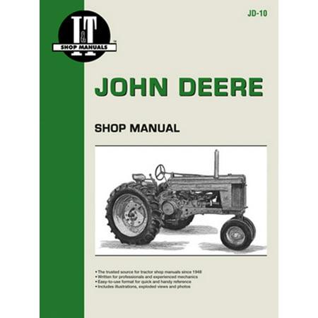 I&T Shop Manual JD 50, 60, & 70 Tractors Farmer Bob's Parts (70 Hp Parts Manual)