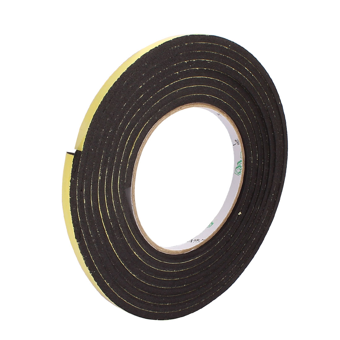 0.6CM Wide 3Meters Length 4MM Thick Single Sided Sealing Shockproof Sponge Tape