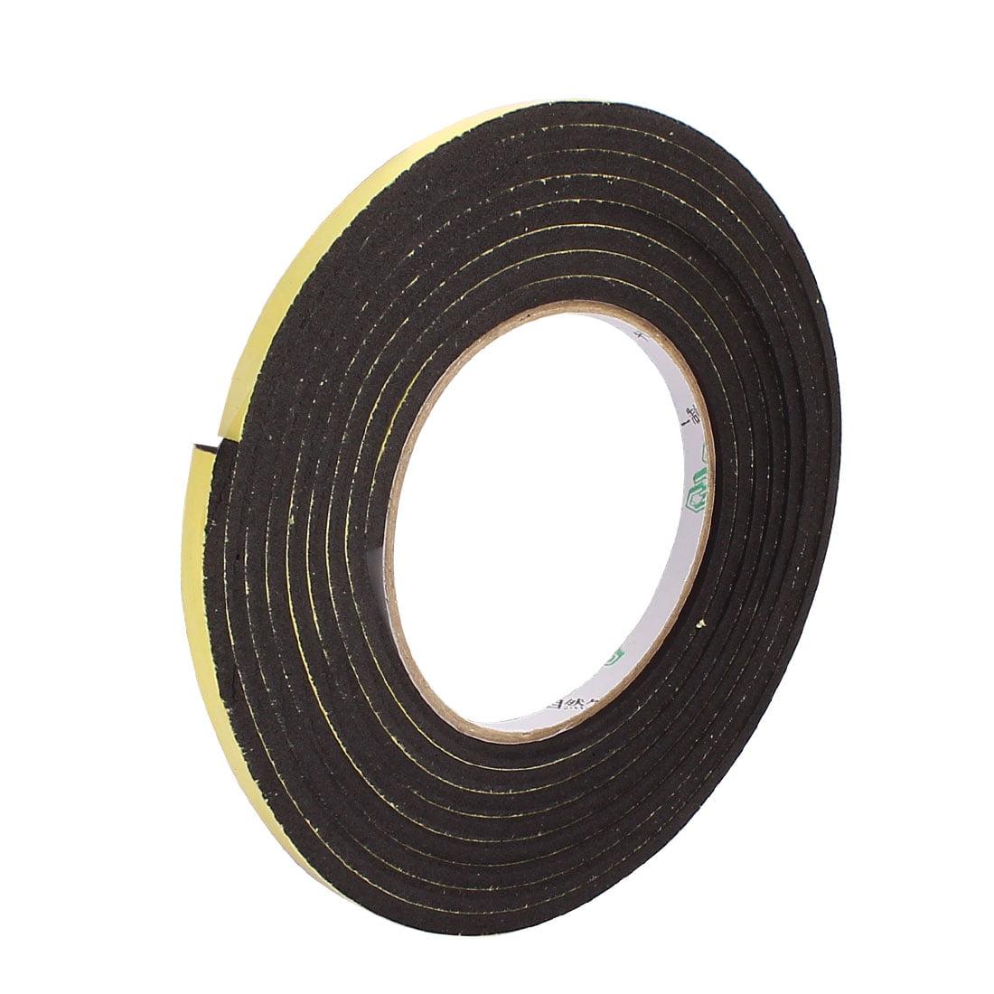 0.6CM Wide 3Meters Length 4MM Thick Single Sided Sealing Shockproof Sponge Tape