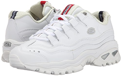 Skechers M Sport Women's Energy Sneaker,White/Millennium,8.5 M Skechers US a3cd5d