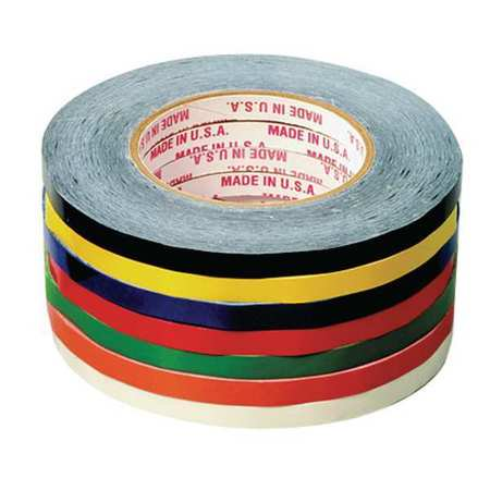 ZORO SELECT 8TUF0 Bag Sealing Tape,PVC,Blue,3/8In x 180 Yd Bag Neck Sealing Tape