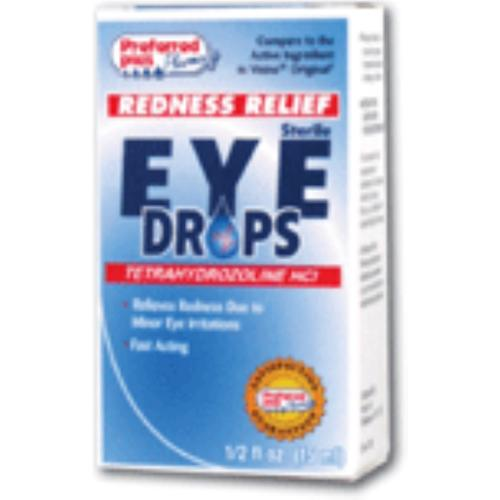 Redness Relief Eye Drops 0.5 oz (Pack of 2)