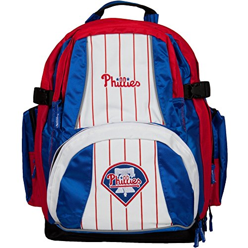 MLB Philadelphia Phillies Trooper Backpack, Red