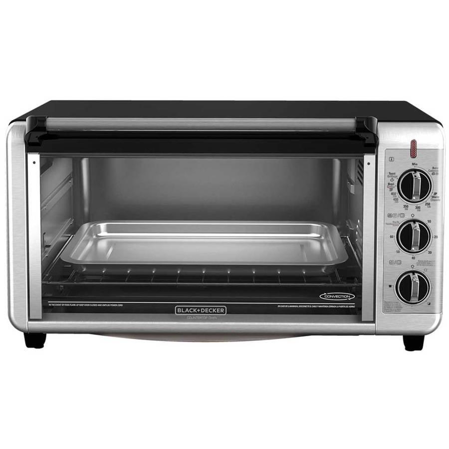 Black & Decker Black+Decker Extra Wide Counter Toaster Oven