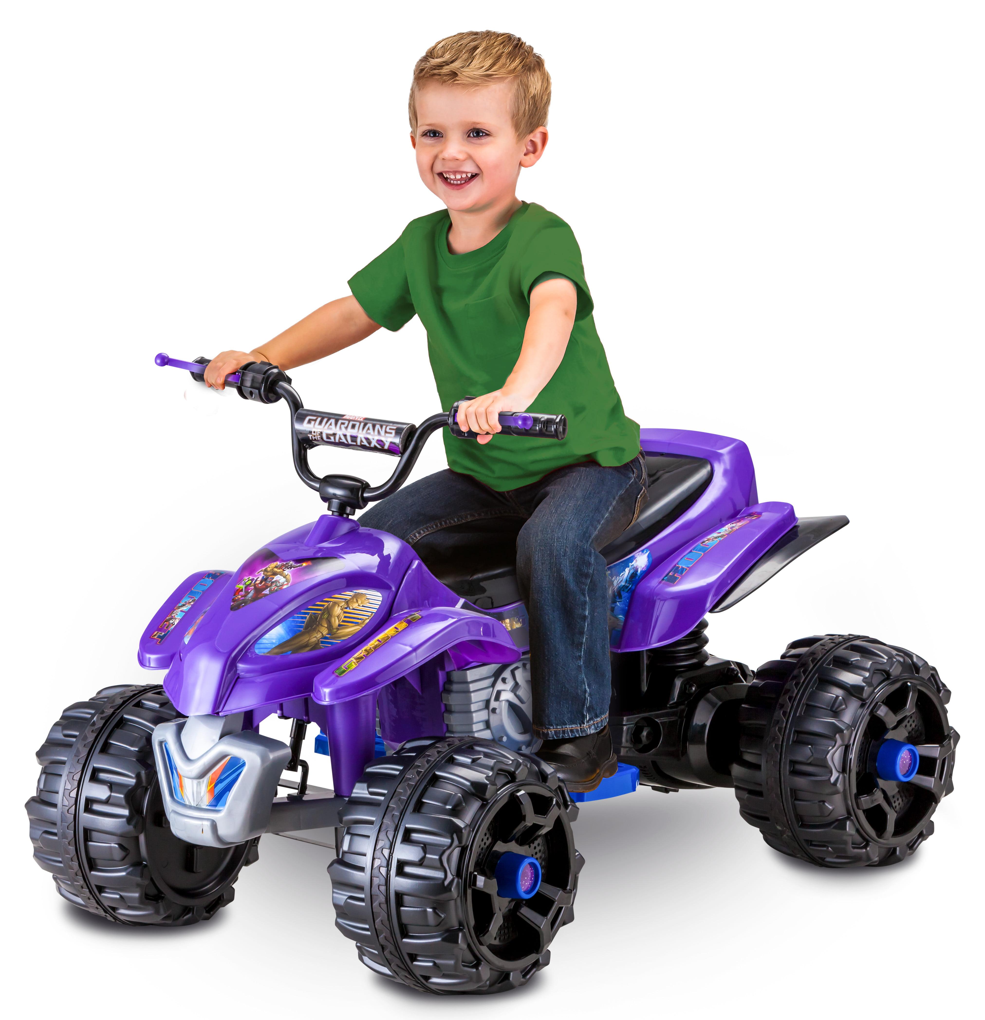 Kid Trax Marvel Guardians of the Galaxy 12V Quad, Purple