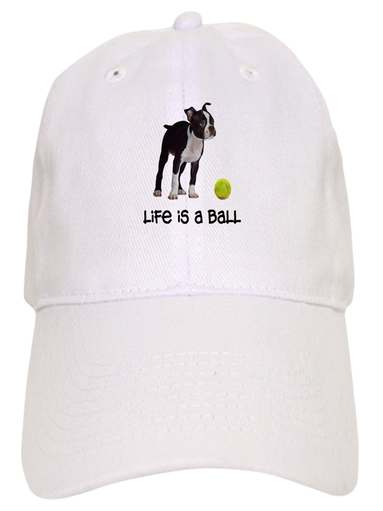117a3362a3a CafePress - Boston Terrier Life - Printed Adjustable Baseball Cap -  Walmart.com