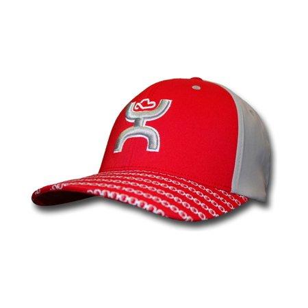 c80bf3cb4c36f Hooey - Hooey Men s Hooey Solo Iii Flexfit Hat - 1644Rdgy - Walmart.com
