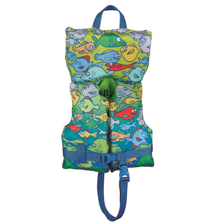Infant/Child Nylon Vest, Water InfantToddler Nylon BabySafe Vest Infant Fish InfantChild Sports By Full Throttle