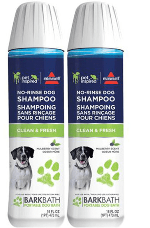BISSELL Bark Bath Clean and Fresh No Rinse Dog Shampoo, 2-Pack by Bissell