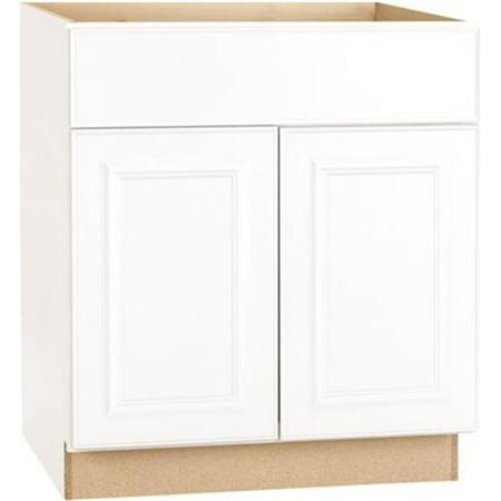 Interline 2478253 30 x 24 in. Hampton Base Cabinet, White