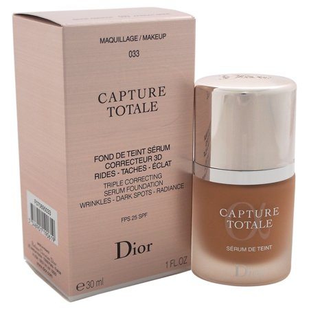 Christian Dior Capture Totale Triple Correcting Serum Foundation SPF 25 - # 033 Apricot Beige 1 oz Foundation ()