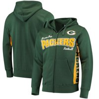 Green Bay Packers Hands High Player Full-Zip Hoodie - Green/Gold