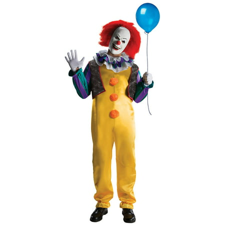 Classic Adult Pennywise Costume - Fantasy Costumes Ideas