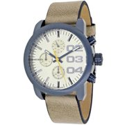 Women's Flare Leather Watch - Champagne
