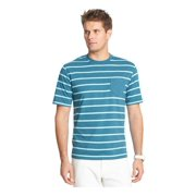 IZOD Mens Striped Pocket Graphic T-Shirt