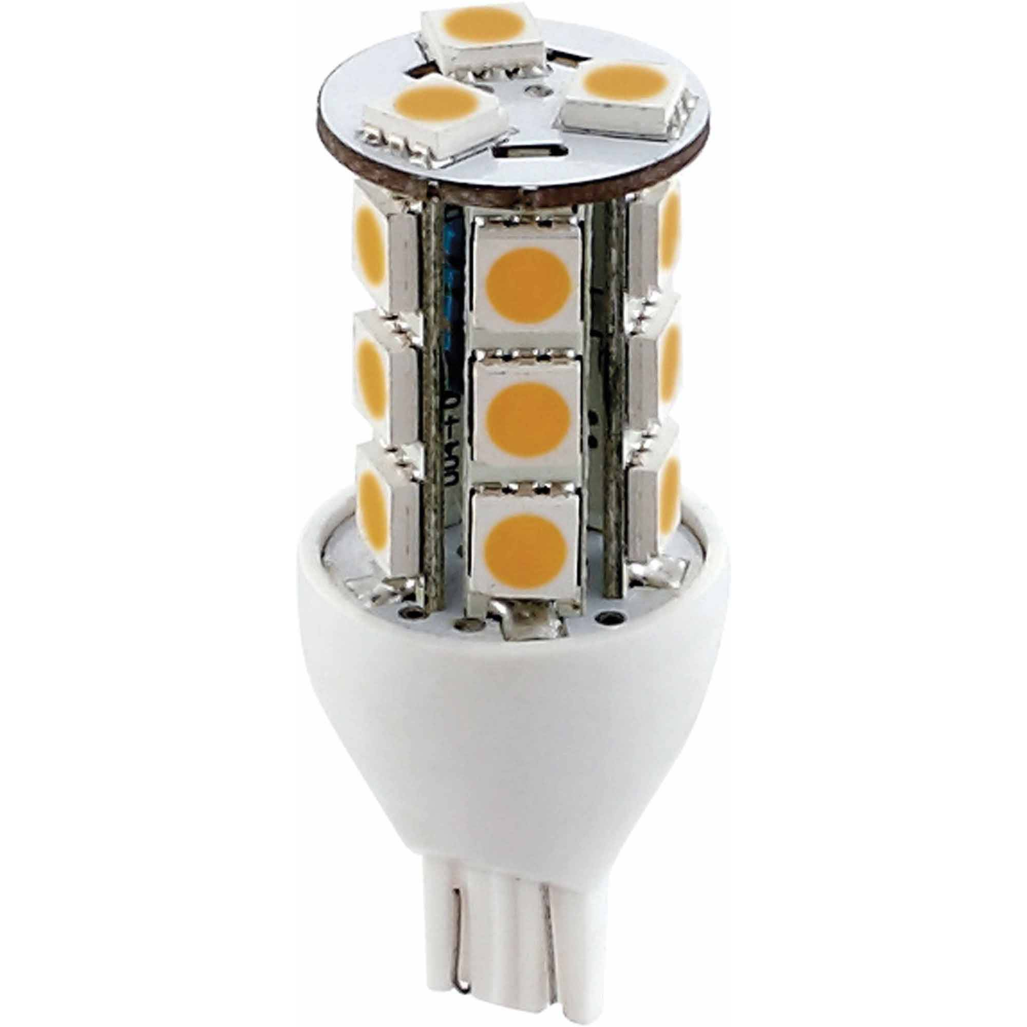 Green LongLife 12V LED Light Bulb Tower with 921/T15 Wedge Base, 200 Lumens, Natural White
