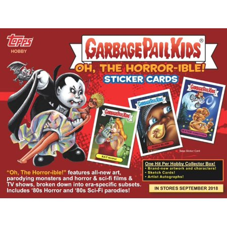 Garbage Pail Kids Oh, The Horror-ible Trading Sticker Card