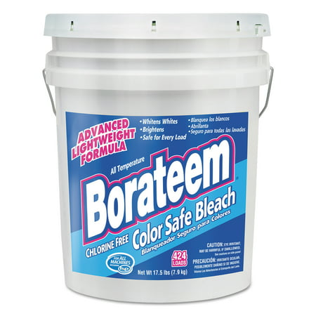 Borateem Color Safe - Borateem Color Safe Bleach, Powder, 17.5 lb. Pail