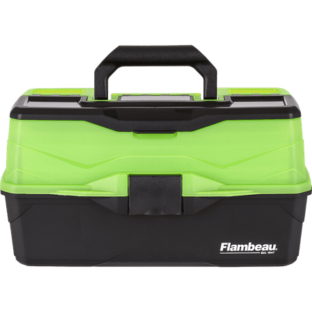 Flambeau Green Frost And Black Tackle Box