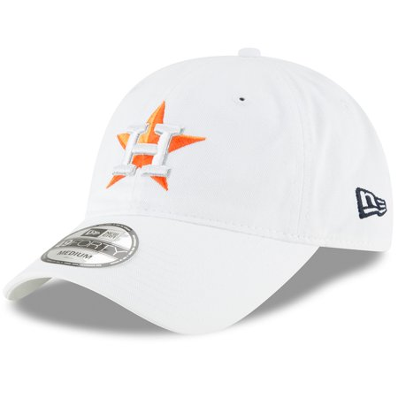 b66d103becb59 Houston Astros New Era Core 49FORTY Fitted Hat - White - Walmart.com