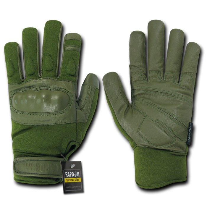Rapid Dominance T40 - Nomex Knuckle Glove-Olive Drab-2X