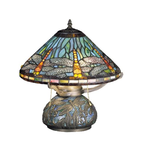 Meyda Tiffany 27159 Stained Glass / Tiffany Table Lamp fr...