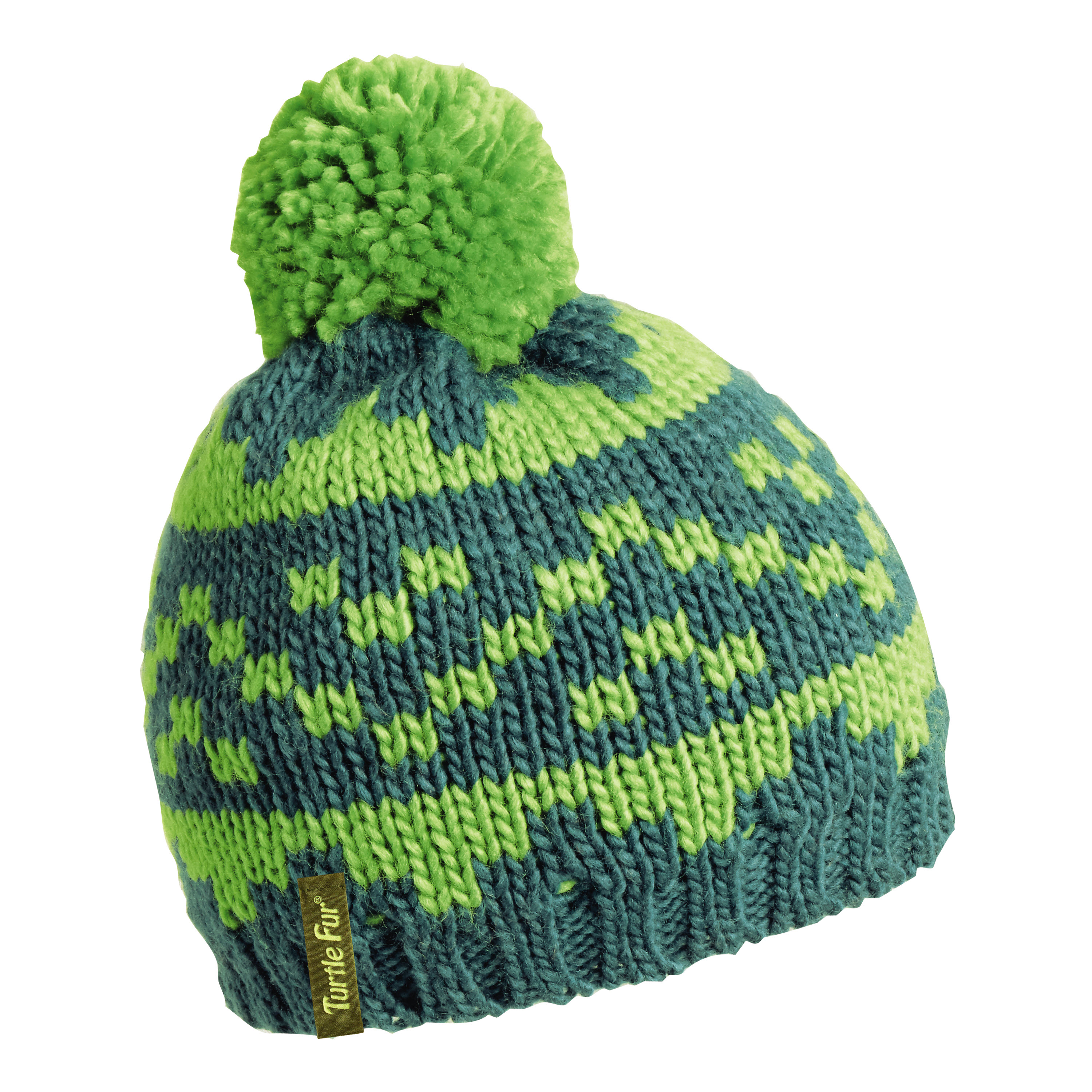 Turtle Fur Side Step Boy's Classic Pom Winter Hat