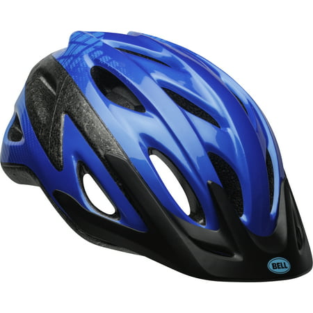 Bell Axle Bike Helmet, Blue Tron, Child 5+ (Bell Sports Blue Bicycle Helmet)