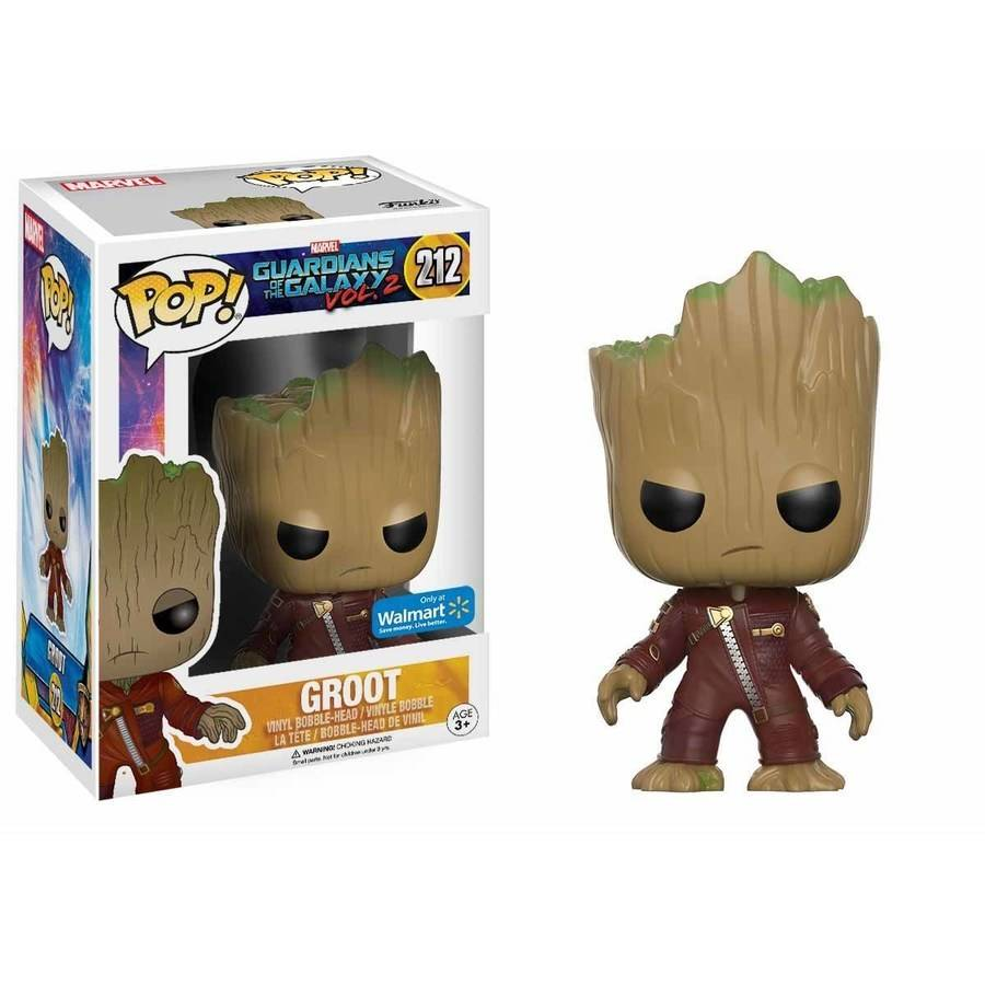 Marvel Guardians of the Galaxy 2 Walmart Exclusive Ravager Outfit Baby Groot New