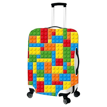 Building Bricks-Primeware Luggage Cover - Small