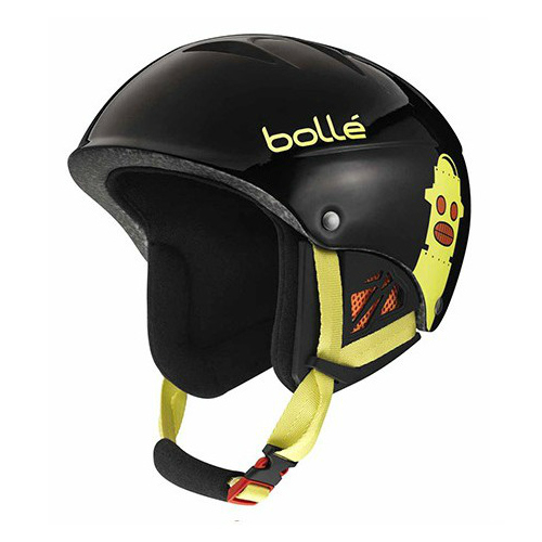 *Bolle Helmets 30821 Shiny Black Robot 53-57cm B-Kid by Supplier Generic