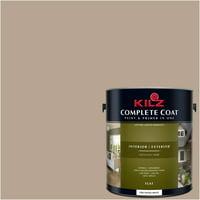 Iced Mocha, KILZ COMPLETE COAT Interior/Exterior Paint & Primer in One, #LL200
