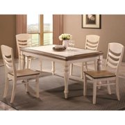 A Line Furniture Montgomery Two-tone Ceramic Tile Top Dining Set