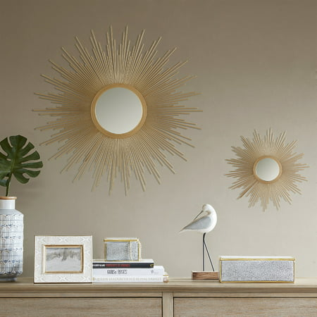 Home Essence Fiore Sunburst Mirror ()