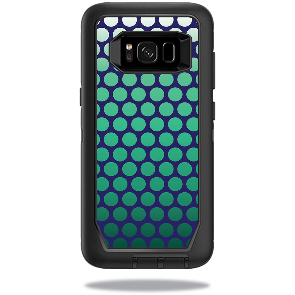 MightySkins Protective Vinyl Skin Decal for OtterBox DefenderSamsung Galaxy S8 Case sticker wrap cover sticker skins Circles