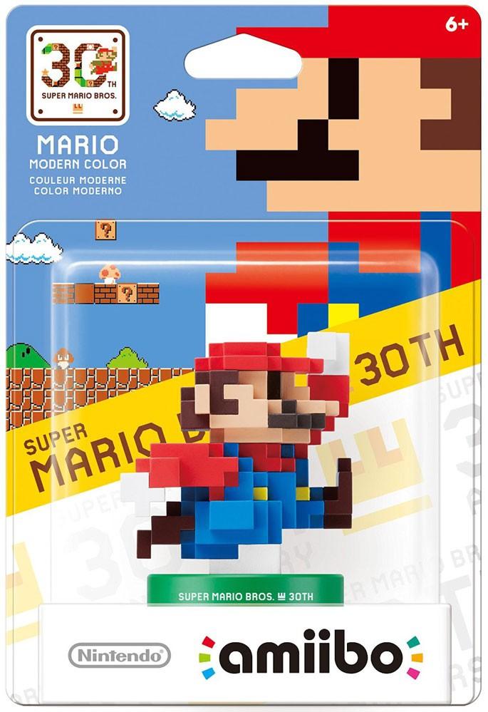 Nintendo Amiibo Mario Mini Figure [Modern Colors, No Packaging] by