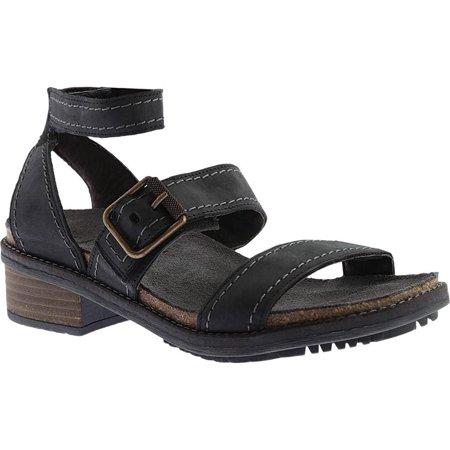 1a453278693 Naot - Naot Women s Beatnik Ankle Strap Sandal - Walmart.com