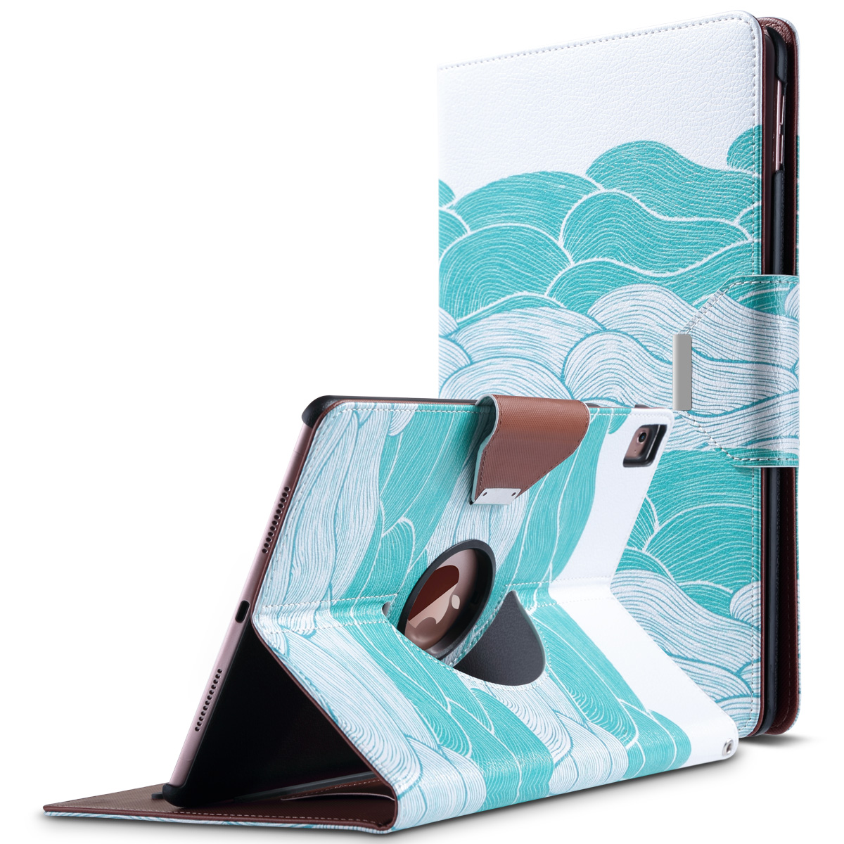 ULAK iPad Pro 9.7 2016 Case, 360 Degree Rotating Stand Cover with Auto Sleep / Wake Feature for Apple iPad Pro 9.7 Inch 2016 Release