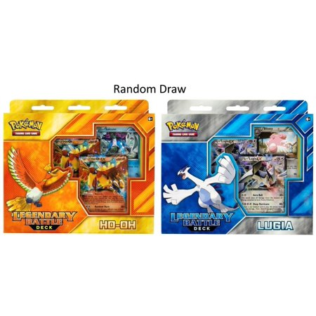Pokemon TCG Legendary Battle Deck HO-Oh Or Lugia Card GameAlso included is a code card for the Pokémon trading card game online By