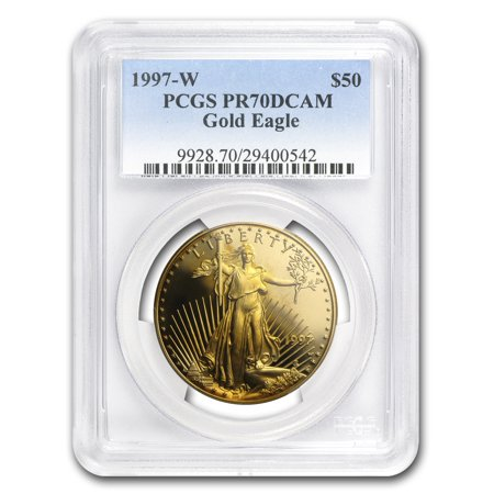 Eagle Proof Set (1997-W 1 oz Proof Gold American Eagle PR-70 PCGS (Registry Set) )