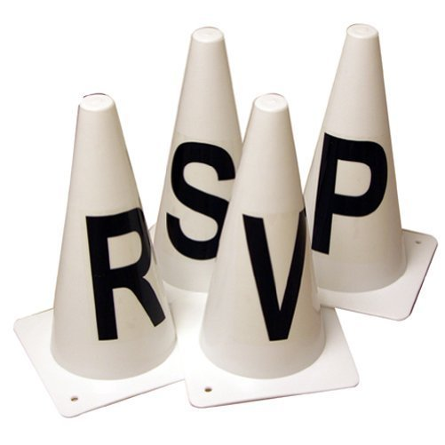 Dressage Letter Cones Set of 4