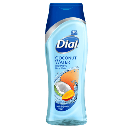 Dial Body Wash, Coconut Water & Mango, 21 Ounce (Turn Counter Dial)