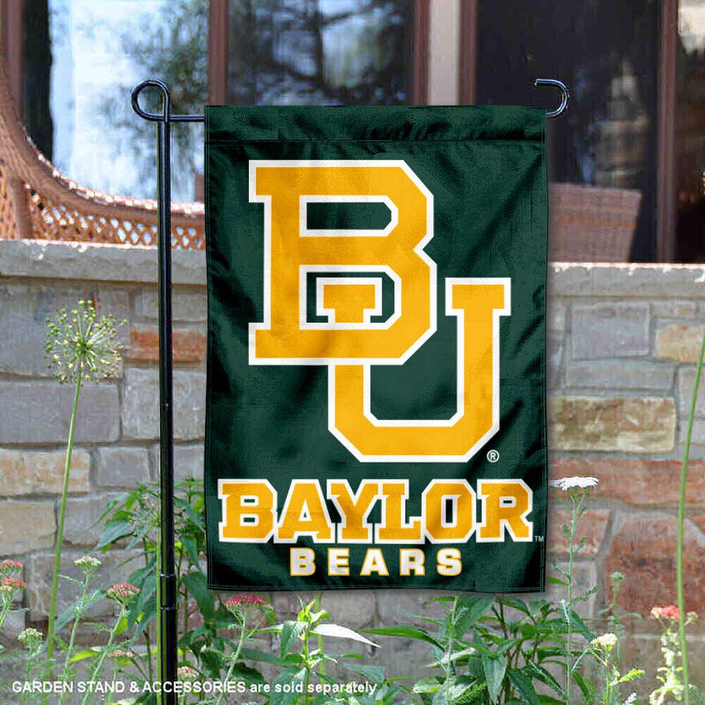 Baylor Bears 13 X 18 College Garden Flag Walmart Com